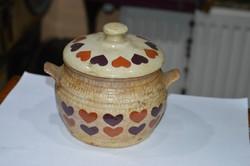 Kerámia tároló edény