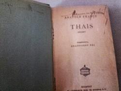 Antik könyv  -   Anatole  France  Thais  -   világirodalom