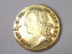 XV. Lajos érme.1743