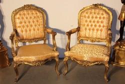 Csodaszép Francia barokk fotelek!