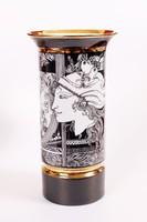 """Szász Endre """"Pillangós"""" váza (30 cm magas)"""