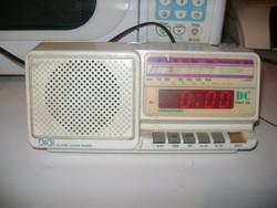 Retro PANASOUND ébresztős rádió - működik