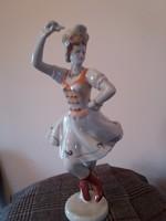 Hollohazi Táncos lány kifogástalan állapotu