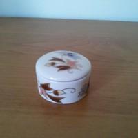 Zsolnay gyűrűtartó doboz fedővel