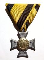 III. Osztályú Legénységi Szolgálati Jelvény, szép eredeti darab