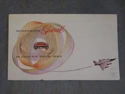 Veterán autós prospektus1958 Buick