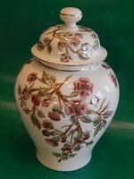 ÚJ! Nagyméretű Zsolnay fedeles váza