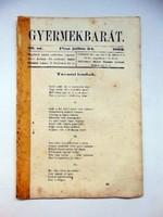 1862 július 24 Gyermekbarát RÉGI ÚJSÁG 526