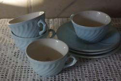Kék gránit kávéskészlet