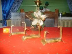 Retro asztali fénykép, fotó tartó - három darab