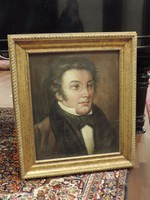 Franz Schubert olajfestmény