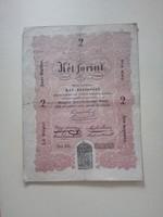 2 Forint (Kossuth bankó) VF+
