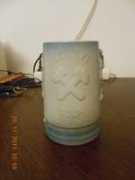 Régi Zsolnay porcelán bányász korsó. Pajzspecsétes, hibátlan. Ritka