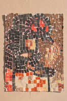 Mozaikterv papíron