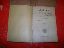 Borosay D.: Algebra könyv - 1921