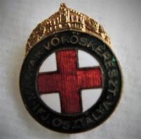 Horthy Vöröskeresztes jelvény