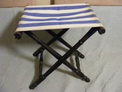 Régi öszzecsukható szék ülőke
