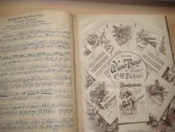Kották az 1910 es évekből  150 oldal  27x34cm