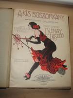 Kották  az 1910 es évekből   150 oldal  ,27x34 cm