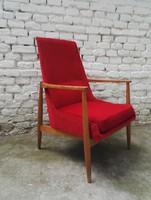 60'-as évek skandináv stílusú magyar retro fotel szék 2 db #090