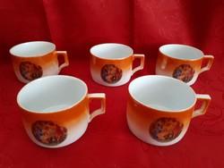 Régi Zsolnay csészék