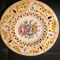 Olasz falidísz tányér