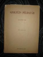 Szolfézs ív .kötet    zeneműkiadó 21x29 cm  150 oldal