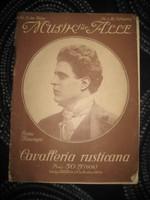 Music für alle  Zene mindenkinek  1910   Mascagni  Cavalléria Ructicona