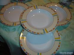 Mély tányér 4 darab