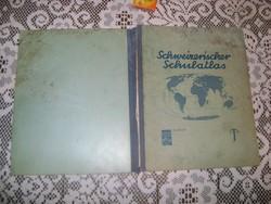 Régi svájci iskolai atlasz