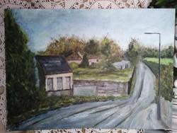 Huszárné Veres Emma eredeti festmény