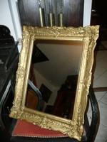Eladó egy gyönyörű antik blondel fali tükör a századforduló időszakából