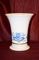 Hagymamintás szerényen lüszteres csoda szép nagyméretű váza  ( DBZ 0096 )