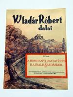 VLADÁR RÓBERT DALAI  /  RÉGI EREDETI KOTTA Szs.:  1654