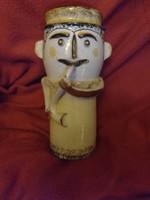 Papp János István kerámia figurális váza