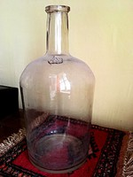Hutaüveg pálinkás 4literes antik