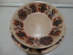 Városlődi majolika tányérok