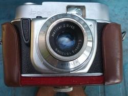 Beirette retro fényképezőgép bőrtokban -gyűjtőknek