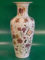 Zsolnay pillangó mintás váza