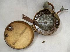 X514 Antik BURKS ORIGINAL ellenőrző óra