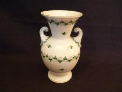 0077 K10 Petrezselymes antik herendi váza 1946