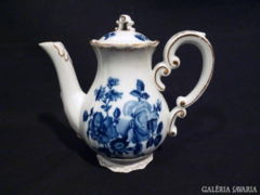 1589 G4 Zsolnay porcelán kávés kanna kiöntő