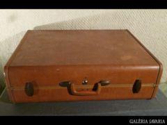 2429 T3 Antik marhabőr amerikai SAMSONITE koffer