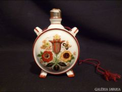 2354 I3 Régi Zsolnay porcelán kulacs