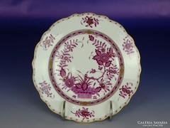 1886 K36 Antik óherendi tányér 1901-ből