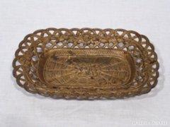 2596 G4 Antik öntöttvas asztalközép kínáló tál