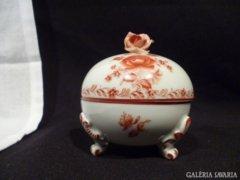3217 K1 Antik óherendi porcelán bonbonier