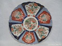 3363 K1 Antik japán imari falitál XIX. század 40cm