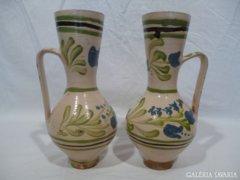 3459 Antik erdélyi bokály pár egyforma mintával