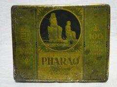0566 PHARAO egyiptomi szivarka pléhdoboz